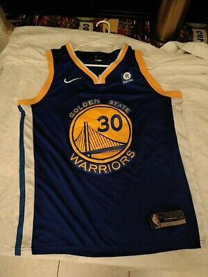 newest 7078c 7d825 NIKE YOUTH BOY'S Golden State Warriors Curry Swingman Jersey ...