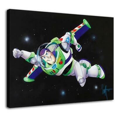 "12""x16"" buzz lightyear poster HD Canvas print Home decor Room Wall Art Paintings"