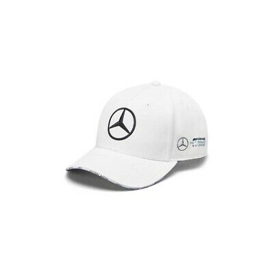 Genuine Mercedes 2019 F1 White Valtteri Bottas AMG Petronas Cap B67996278 NEW