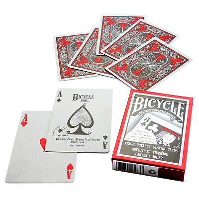 Bicycle Tragic Royalty playing cards Glow Standard index Poker USPCC Art 1 Deck