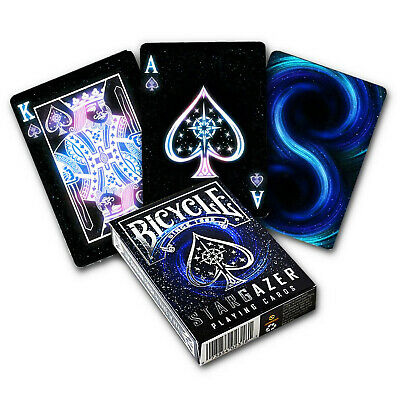 Bicycle STARGAZER playing cards Standard index Space Poker USPCC 1 Deck New USA