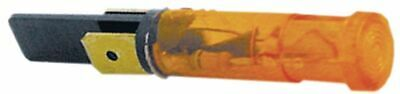 Indicator Light D 9Mm 400V Yellow Connection Male Faston 6.3Mm Temp.-Resist