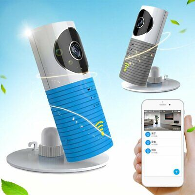 WiFi 720P HD Wireless IP Clever Dog Monitor Home Security Night Vision Camera bh