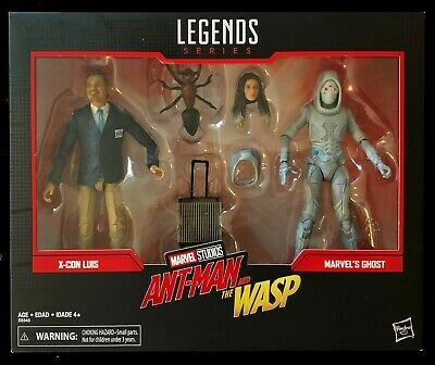 Marvel Legends Lot 6-Inch 80 years 80th Anniversary Studios X-Con LUIS & GHOST