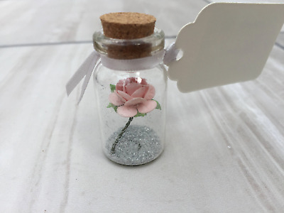Individual Rose in bottle wedding favours, wedding favours, wedding favors, part