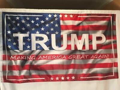 Donald Trump 3'x5' Making America Great Again Flag MAGA Free Shipping!