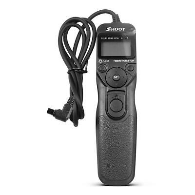 RS-80N3 Camera Remote Timer Shutter Release Cable for Canon 70D 5D3 5D4 7D2 #Z