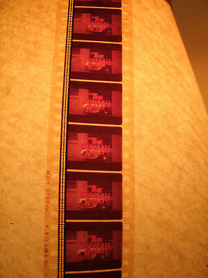 """Collectible Promotional 35Mm Film Trailer For """"Gumball Rally"""" Michael Sarrazin"""