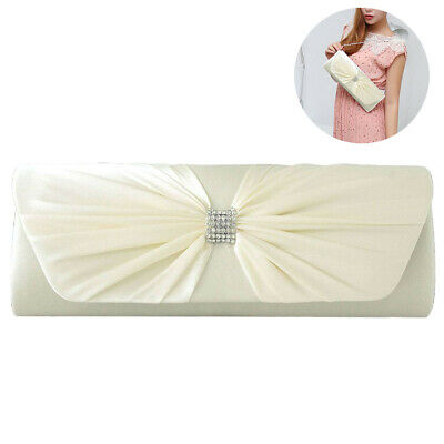 Delicate Trendy Silk Evening Bag Wedding Party Handbag Clutch Bag Bridal Handbag