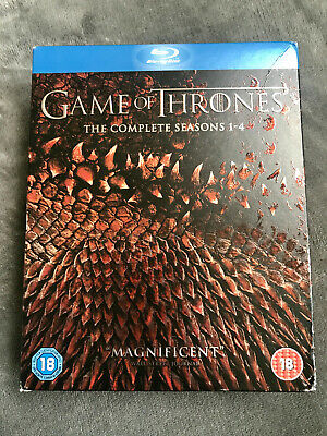 Game of Thrones - The Complete Seasons 1-4 [2015, Blu-Ray] - 19-Disc Box Set