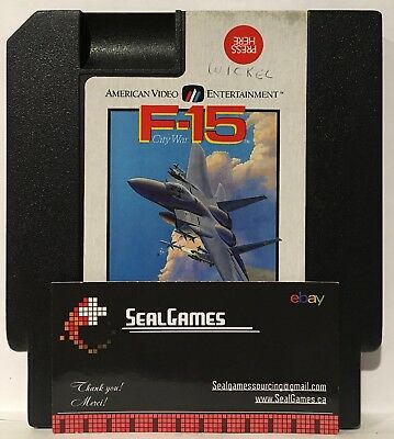 F-15 City War (Nintendo Entertainment System, NES 1990) Authentic Oem Canadian