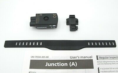 """SHIMANO Di2 Junction Box Mount Spacer For Giant OD2 Headset 1 1//4/"""" 17 Angle 45mm"""
