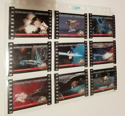 Star Trek Cinema 2000 Mixed Limited Trading Card Chase Set GC1-GC9 Skybox 2000