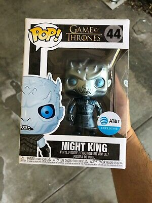 NEW Funko Pop! Game of Thrones #44 Metalic Night King AT&T Exclusive In Hand