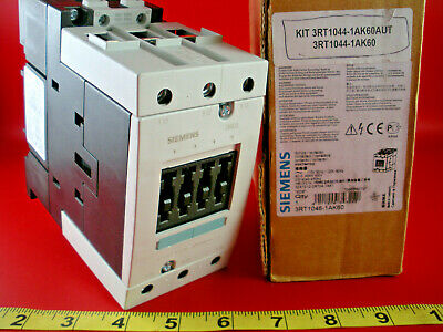Siemens 3RT1046-1AK60 Contactor Relay USED