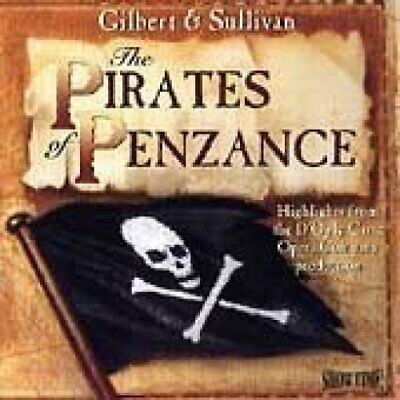 Pirates of Penzance (Gilbert & Sullivan) Highlights from the D'Oyly Carte.. [CD]