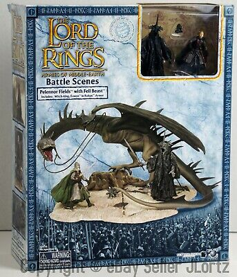 Lord of the Rings Armies of Middle Earth AOME Pelennor Fields with Fell Beast
