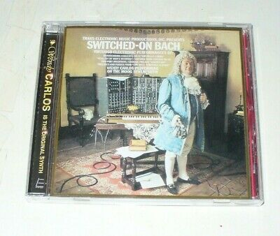 Wendy Carlos - Switched-On Bach  (CD, Jun-2006, East Side Digit)