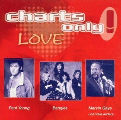Charts only!-Love (2000, Sony) Marvin Gaye, Bangles, Santana, Terence Tre.. [CD]