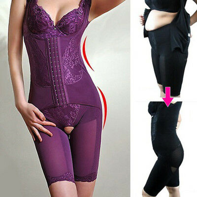 Full Body Shaper Girdle Bodysuit Waist Cincher Underbust Corset Slim Shapewear Y
