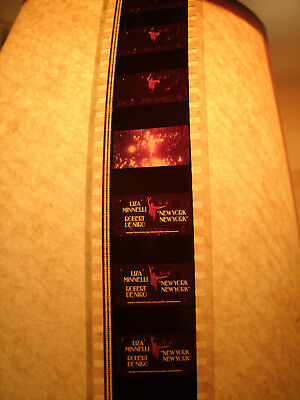 """Collectible Promotional 35Mm Film Trailer For """"New York New York"""" Liza Minnelli"""