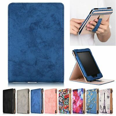 Vertical Flip Stand Leather Sleep Awake Case Cover For Amazon Kindle Paperwhite