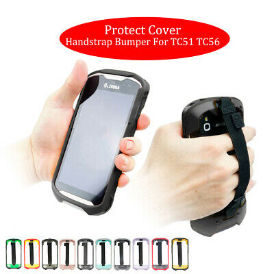 Protect Cover Handstrap Bumper Rugged Boot Multi-colored for Motorola TC51 TC56