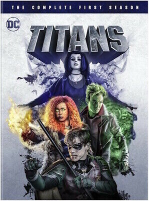 Titans: Season 1 Dvd - The Complete First Season [2 Discs] - New Unopened