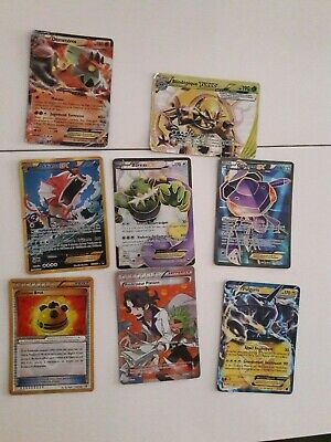 lot carte pokemon ex full art shiny secrete boreas