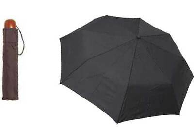 Shelta Mens Compact Rain Sun Umbrella - 6722 Mini Maxi Knob Handle