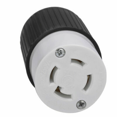 30 Amps NEMA L14-30R Twist Lock 4-Wire Electrical Female Plug Receptacle Loc UL