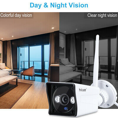 Sricam SP023 1080P IP Camera IR Night Vision High Motion Detection In/Outdoor