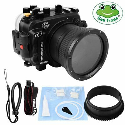 Seafrogs Waterproof Underwater Diving Housing Case For Sony A7 A7R A7S Camera