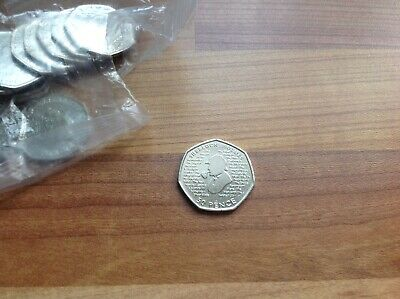 NEW 2019 SHERLOCK HOLMES 50p FIFTY PENCE COIN FROM SEALED BAG