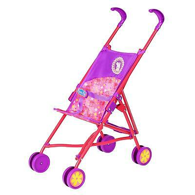 HTI Peppa Pig Stroller | Childrens Baby Doll Pram Toy Great For Girls & Boys 3+