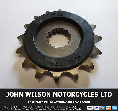 Yamaha WR 400 F 1998 JT Front Rubber Cushioned Sprocket 16 Teeth