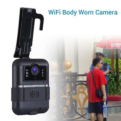 Body Worn Camera WiFi HD 1296P 32GB DVR Security Camcorder Video Recorder Action