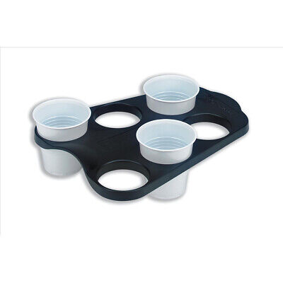 Cup Carry Tray Capacity 6 of 207ml or 266ml Pack of 1 Hot or Cold Drinks