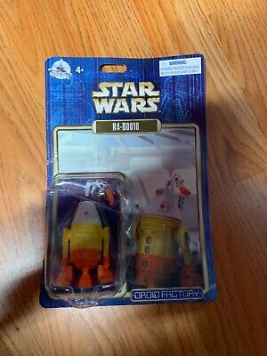 Disney Parks Star Wars Droid Factory R4-BOO18  Droid Holiday Creased