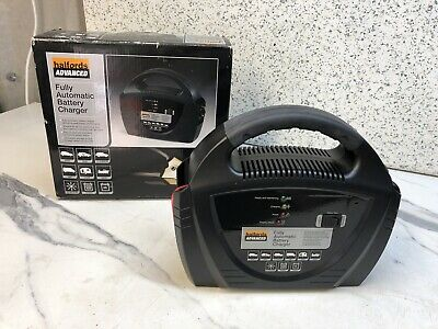 Halfords Advanced Fully Automatic Battery Charger,
