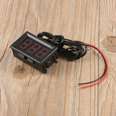 DC5-12V Digital Thermometer Refrigerator Temperature Detector with Probe BluYx