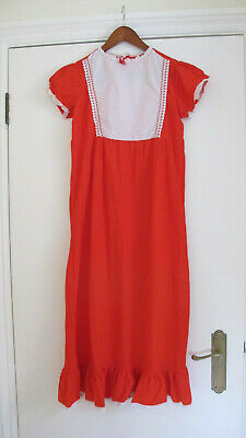 A Vintage, Red & White Nightgown for a Child (1960's)