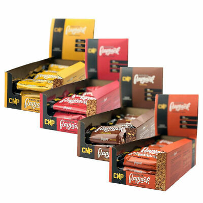 CNP Flapjack Pro Protein Bar 75g Healthy Low Carb Bars x 24 Professional Bars