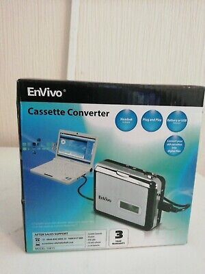Enviro Cassette Converter never used opened to check the contents