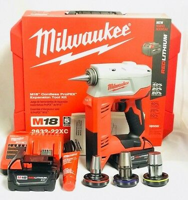 Milwaukee 2632-22XC M18 ProPEX Expansion Tool Kit - Brand New in Box