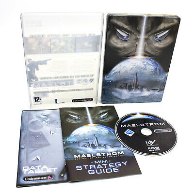 Maelstrom Special Edition for PC DVD-ROM by Codemasters, 2007, CIB, VGC