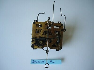 Vintage Regula 25 Cuckoo Clock Movement for parts or repair #2