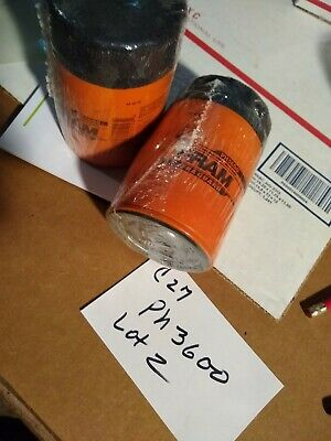 Fram Extra Guard PH3600 Engine Oil Filter w/ Sure Grip Lot of 2  NOS