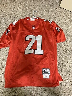 watch 74afa 25f2a 100% AUTHENTIC DEION Sanders Mitchell & Ness 49ers NFL ...