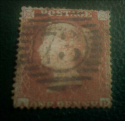 Victorian Penny Red & George VI postage stamps